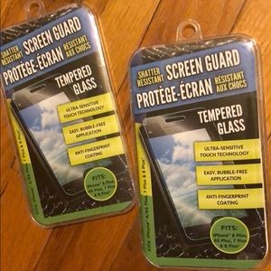Screen protector (tempered glass) new with tags